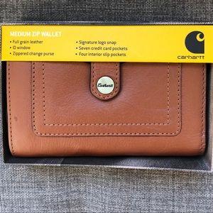 Carhartt CH-62273 - Women's Leather Zip Wallet